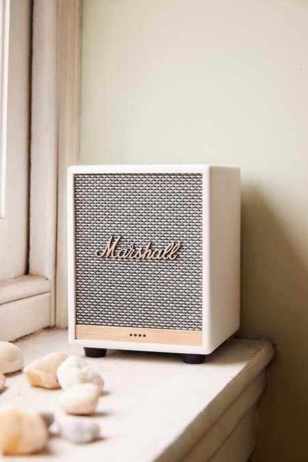 마샬 억스브릿지 홈 보이스 블루투스 스피커 Marshall Uxbridge Voice With Amazon Alexa Bluetooth Speaker