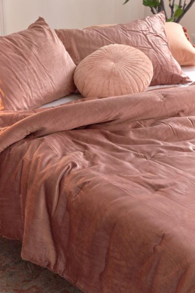 Picture of: Julie Velvet Comforter Urban Outfitters