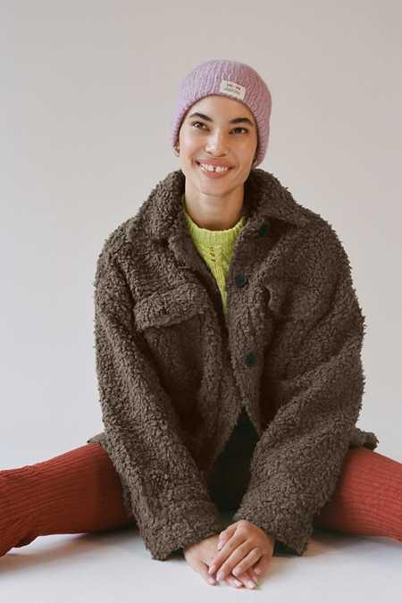 어반아웃피터스 쉐르파 셔츠 자켓 Urban Outfitters UO Palmer Sherpa Shirt Jacket
