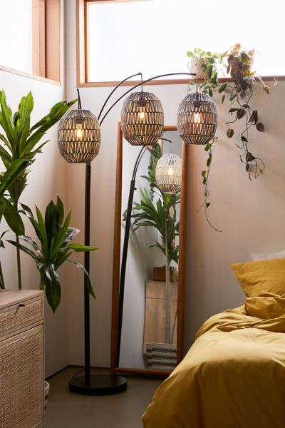 Tri Lantern Floor Lamp Urban Outfitters