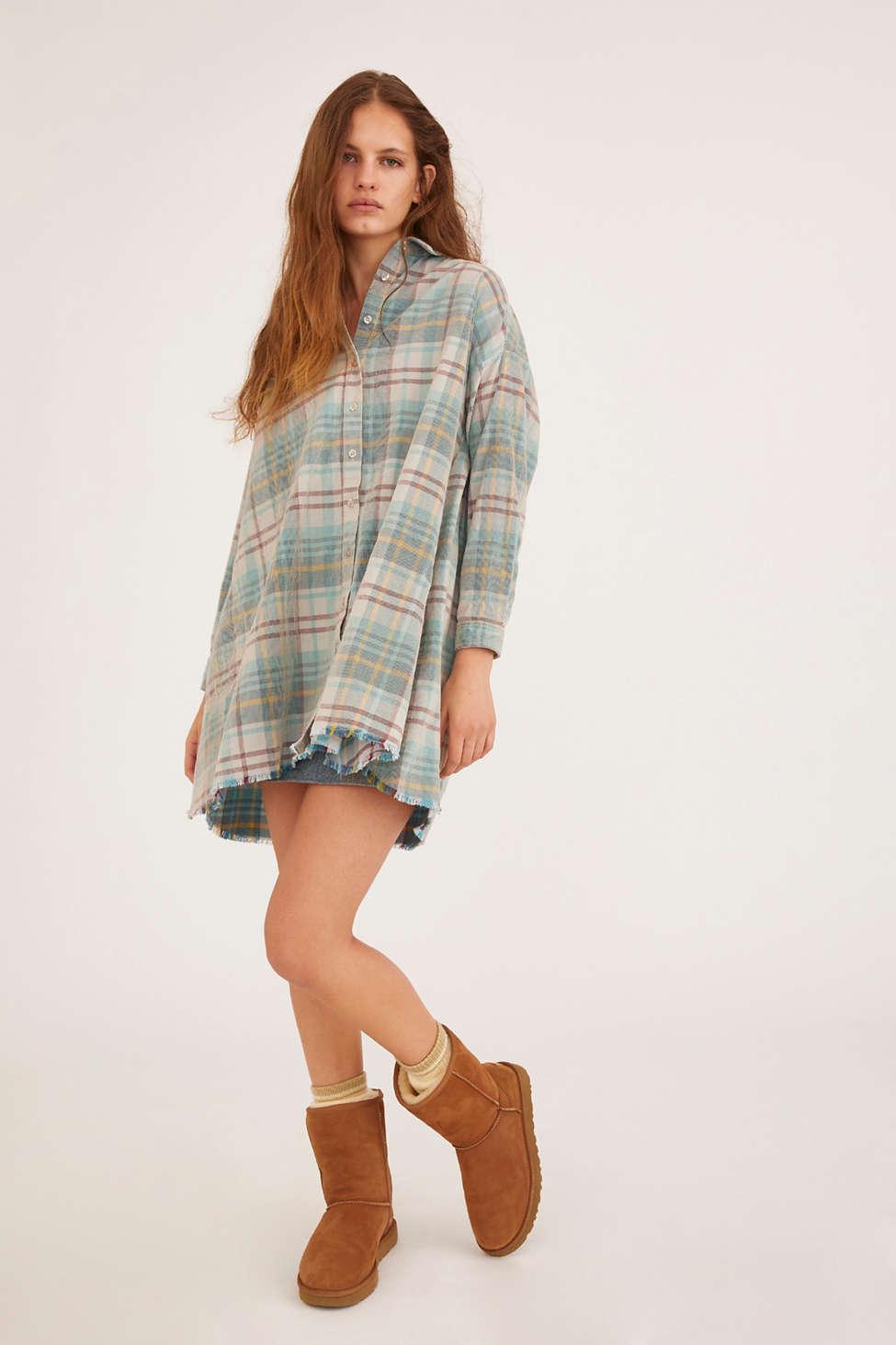 BDG Eldridge Corduroy Shirt Dress | Urban Outfitters
