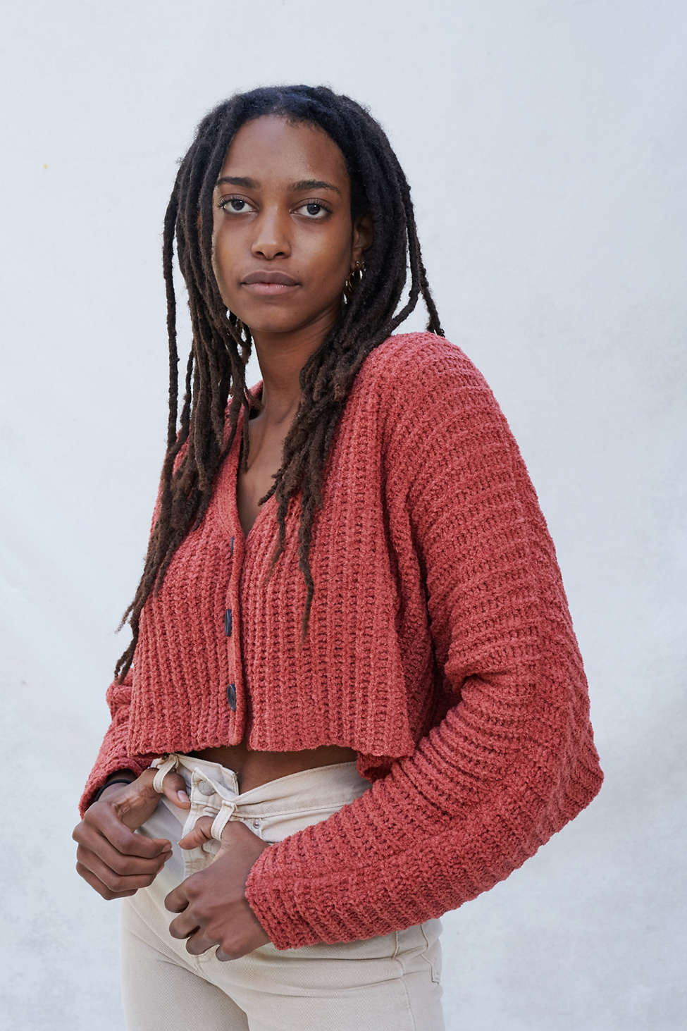 UO Ashlyn Batwing Cropped Cardigan | Urban Outfitters