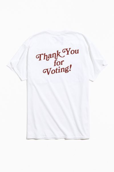 Thank You For Voting Tee