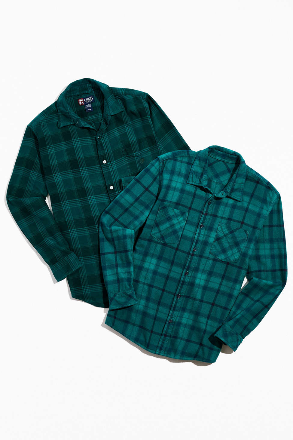 Urban Renewal Overdyed Vintage Flannel Shirt   Urban Outfitters