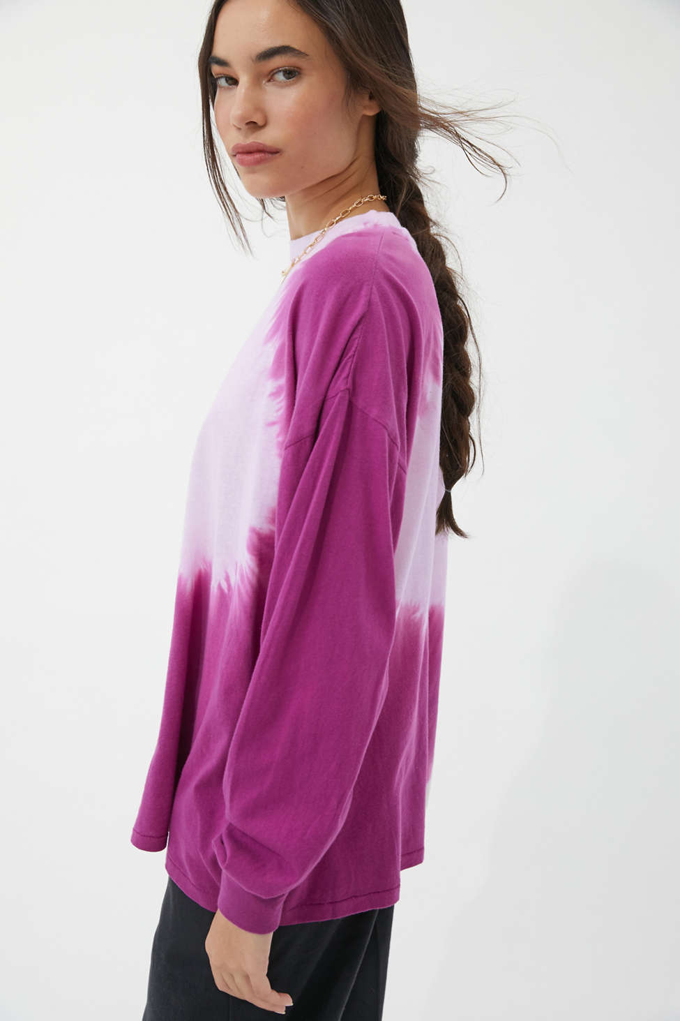 UO Carnaby Tie-Dye Recycled Cotton Oversized Tee | Urban Outfitters