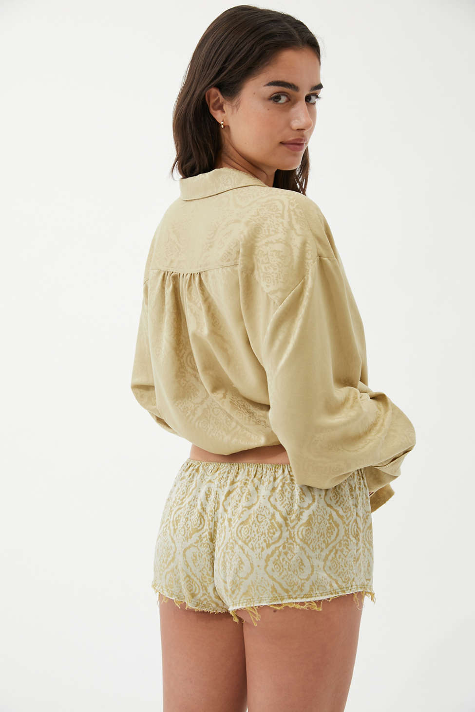 Out From Under Samara Jacquard Short | Urban Outfitters