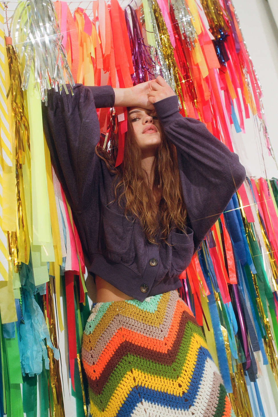 UO Sofia Pocket Cardigan   Urban Outfitters