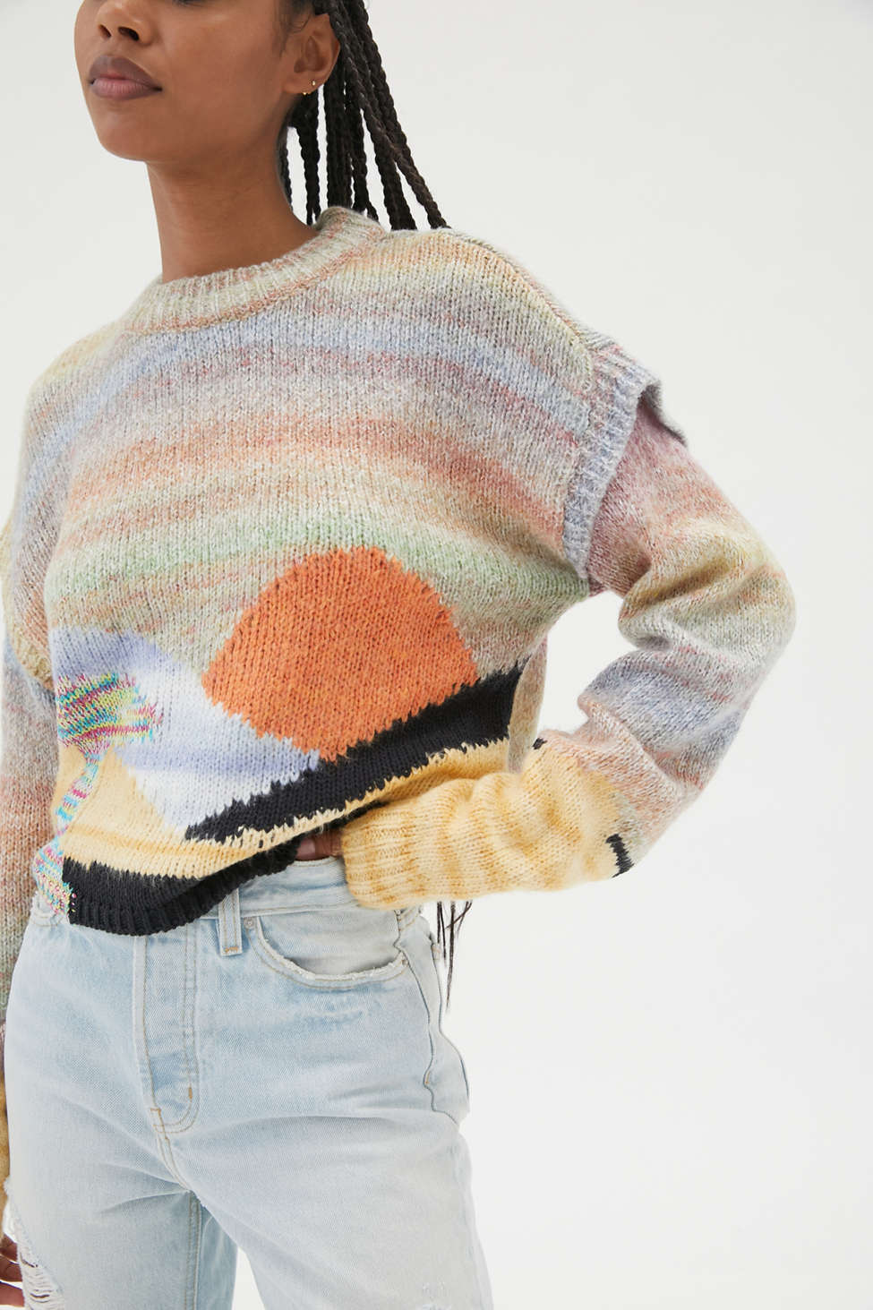 UO Ventura Landscape Sweater   Urban Outfitters