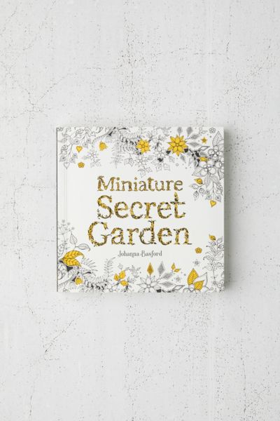 - Miniature Secret Garden: A Pocket-Sized Adventure Coloring Book By Johanna  Basford Urban Outfitters