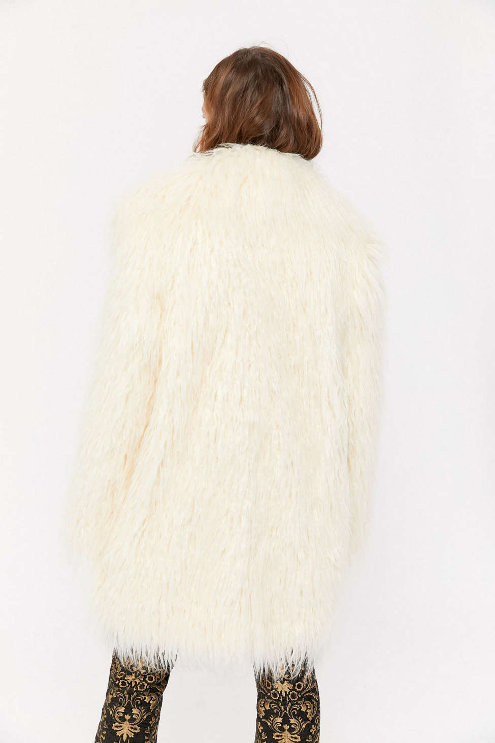 UO Shaggy Faux Fur Coat | Urban Outfitters