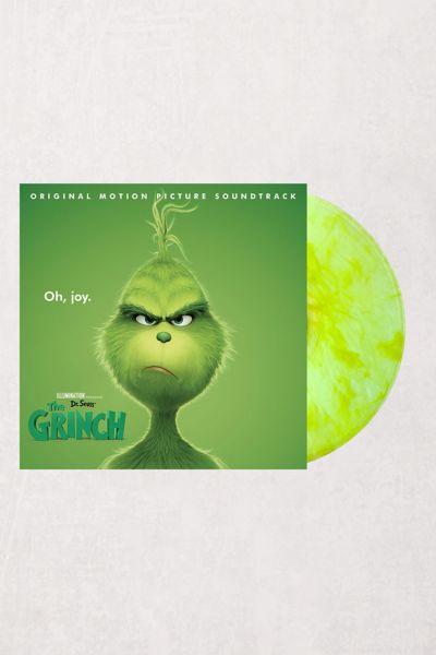 New Universal Studios Dr Seuss The Grinch Clear Green Vinyl Tote Beach Bag