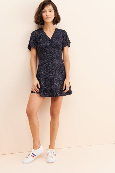 Daisy Street Galaxies Mini Dress | Urban Outfitters