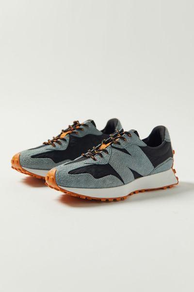 뉴발란스 New Balance MS327V1 Suede Sneaker,Black Multi