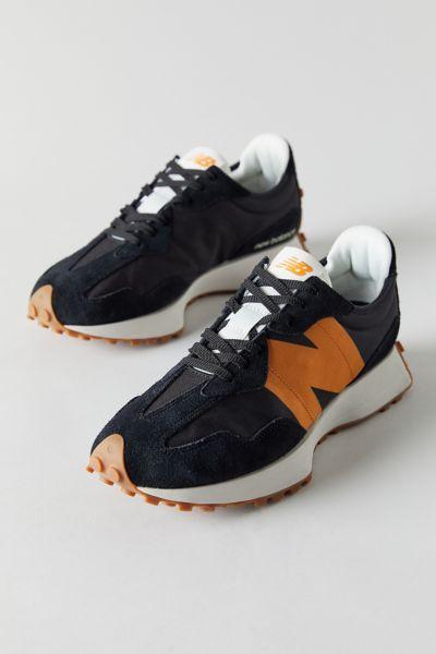 뉴발란스 New Balance 327 Runner Sneaker,Black Multi