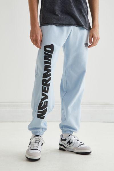 어반 아웃피터스 너바나 네버마인드 트레이닝 팬츠 어반 아웃피터스 Urban Outfitters Nirvana Nevermind Sweatpant,Sky