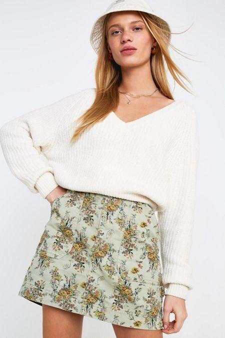 61b4bc390 green - Skirts for Women: Boho, Vintage, Grunge + More | Urban ...