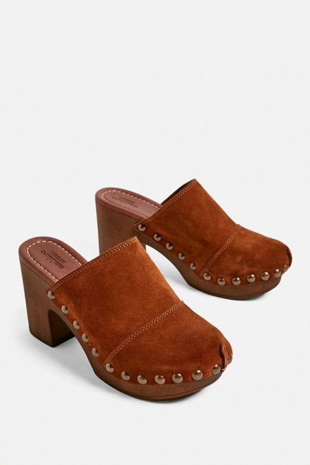be2637092 brown - Mule Shoes + Heels for Women | Urban Outfitters