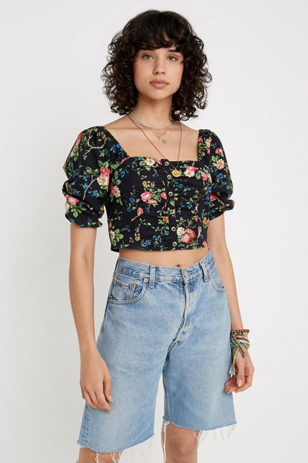 e2c57330792 Cropped Shirts + Blouses For Women | Urban Outfitters
