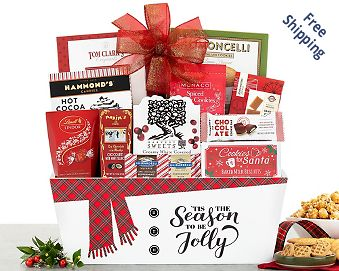 Holiday Sweets Gift Basket