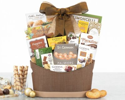 Godiva and Sweets Chocolate Gift Basket FREE SHIPPING