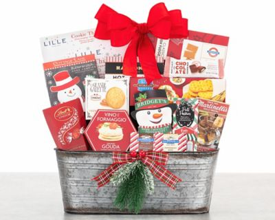 Merry and Bright Gourmet Gift Basket FREE SHIPPING