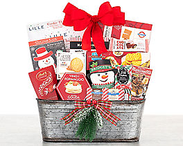 Suggestion - Happy Holidays Gift Basket
