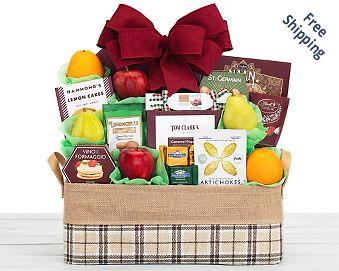 Wholesome Harvest Fruit Basket Free Shipping