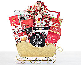 Suggestion - Chocolate and Sweets Holiday Sleigh