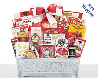 Party Pick Gourmet Gift Basket Gift Basket Free Shipping