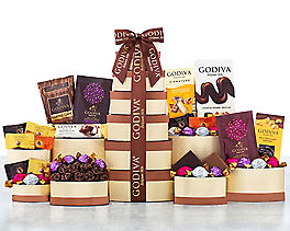 Suggestion - Godiva Chocolate Gift Tower