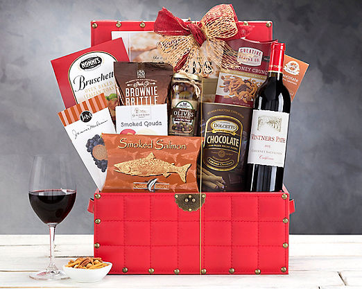 Vintners Path Cabernet Wine Trunk - FREE STANDARD SHIPPING - Item No: 1075