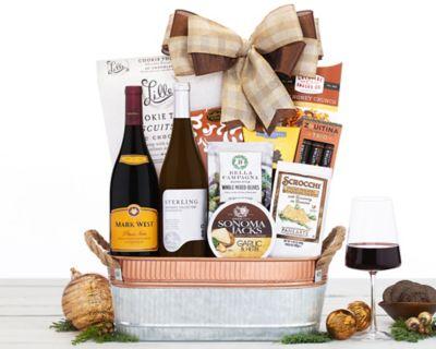 Beringer Founders' Estate Duet Wine Basket FREE SHIPPING