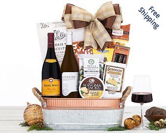 Beringer Founders' Estate Duet Wine Basket Gift Basket