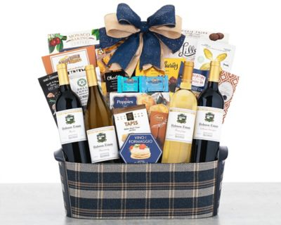 Villa Sonia Italian Wine Gift Basket FREE SHIPPING