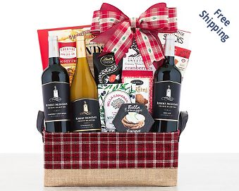 Robert Mondavi Private Selection Wine Basket FREE SHIPPING