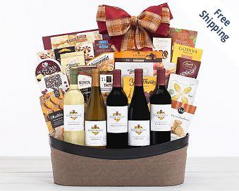 Kendall-Jackson Vintner's Reserve Wine Basket Gift Basket