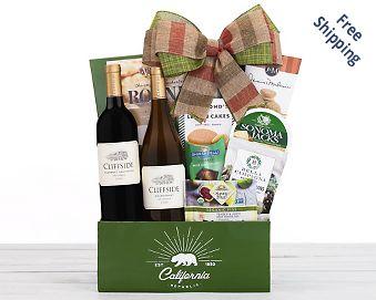 Eastpoint Cellars Duet Wine Basket Gift Basket