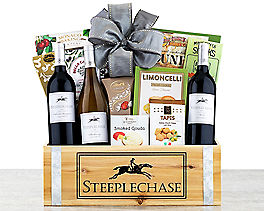 Suggestion - Steeplechase Vineyards California Trio Wine Basket