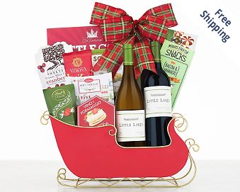 Blakemore Winery Christmas Party Gift Basket