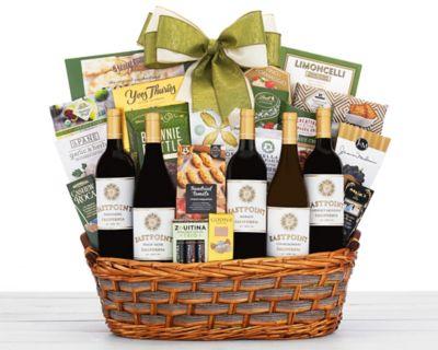 Cliffside Vineyards Tasting Room Wine Basket FREE SHIPPING