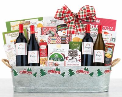 Hobson Estate Collection Wine Gift Basket FREE SHIPPING