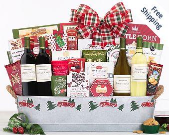 Hobson Estate Collection Wine Gift Basket Gift Basket