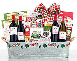 Suggestion - Hobson Estate Collection Wine Gift Basket