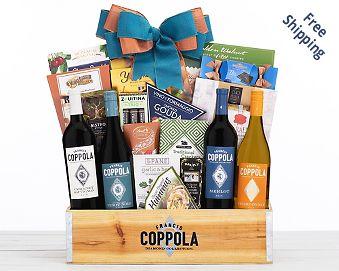 Edenbrook Vineyards Holiday Duet Gift Basket