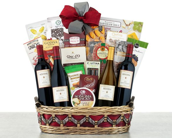 Image 2. Image 2. Houdini Napa Valley Collection Gift Basket ...