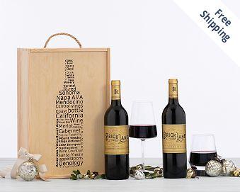 Kiarna Vineyards Red Wine Duet - Cheers FREE SHIPPING