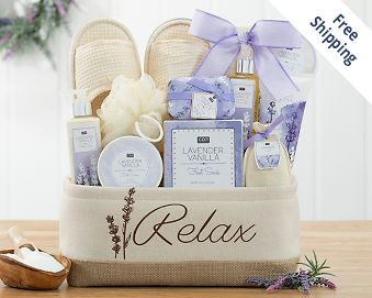 A Day Off Spa Gift Basket Gift Basket  Free Shipping