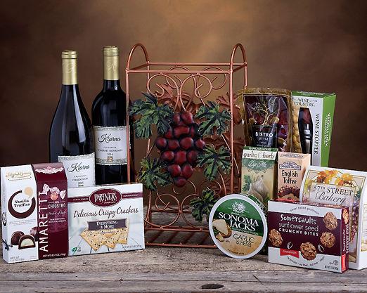 Kiarna Cabernet and Chardonnay Wine Rack - FREE STANDARD SHIPPING - Item No: 415