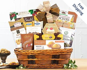 Bon Appetit Gift Basket  Free Shipping