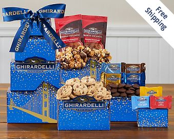 Ghirardelli Chocolate Company Tower FREE SHIPPING